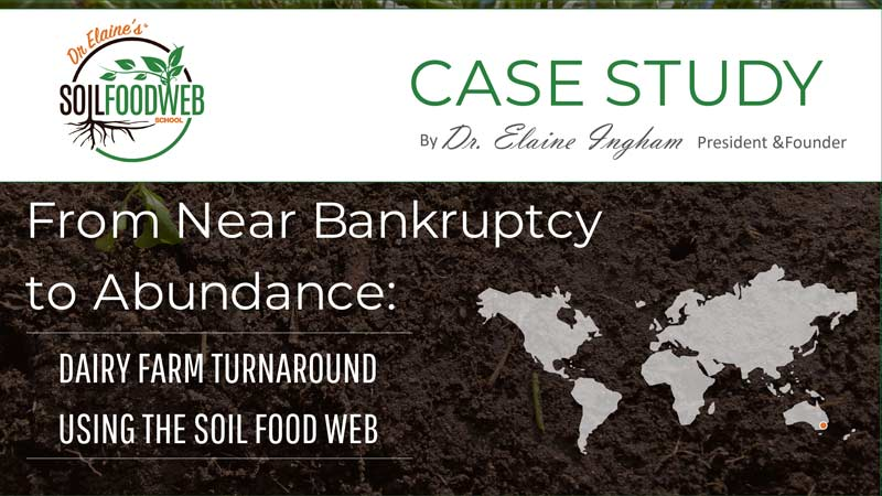 Soil Foodweb Case Study: Dairy Farm Turnaround